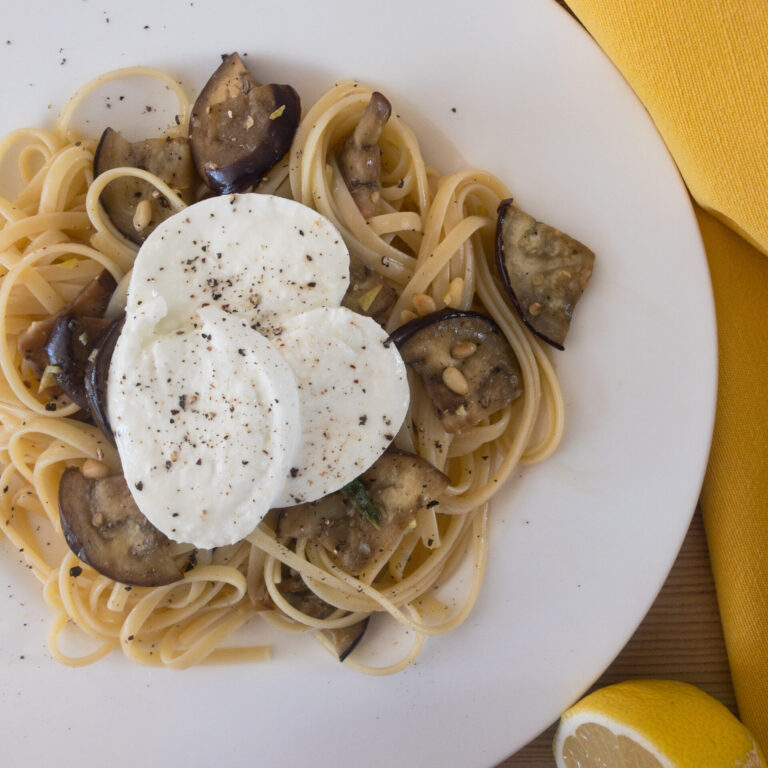 Read more about the article Zitronige Spaghetti