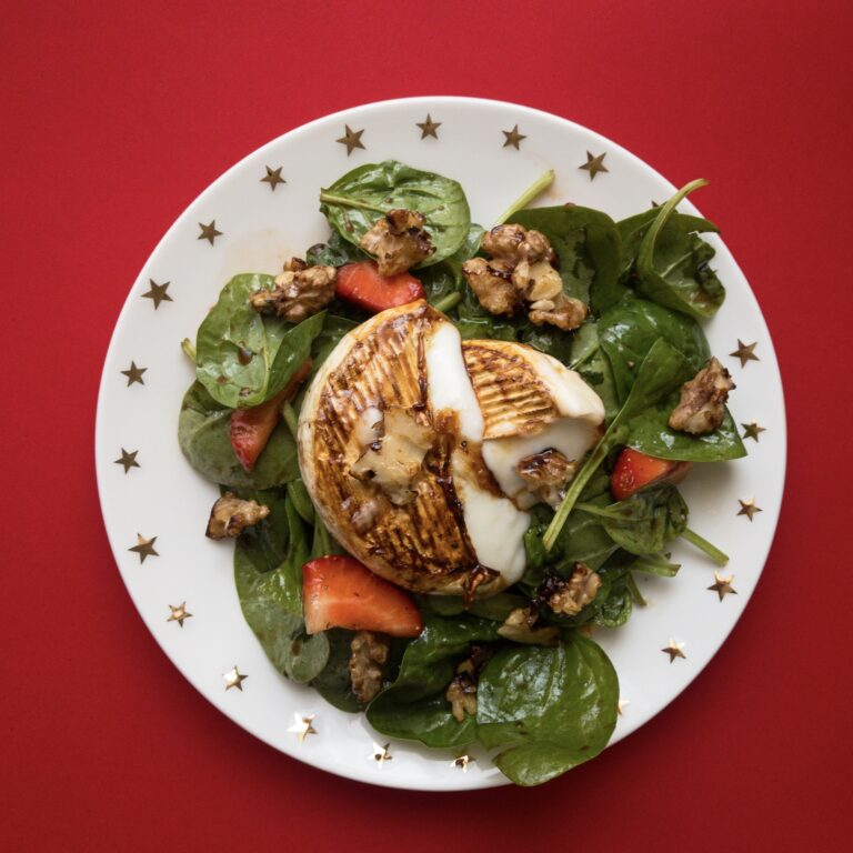 Read more about the article Salat mit Ziegenkäse