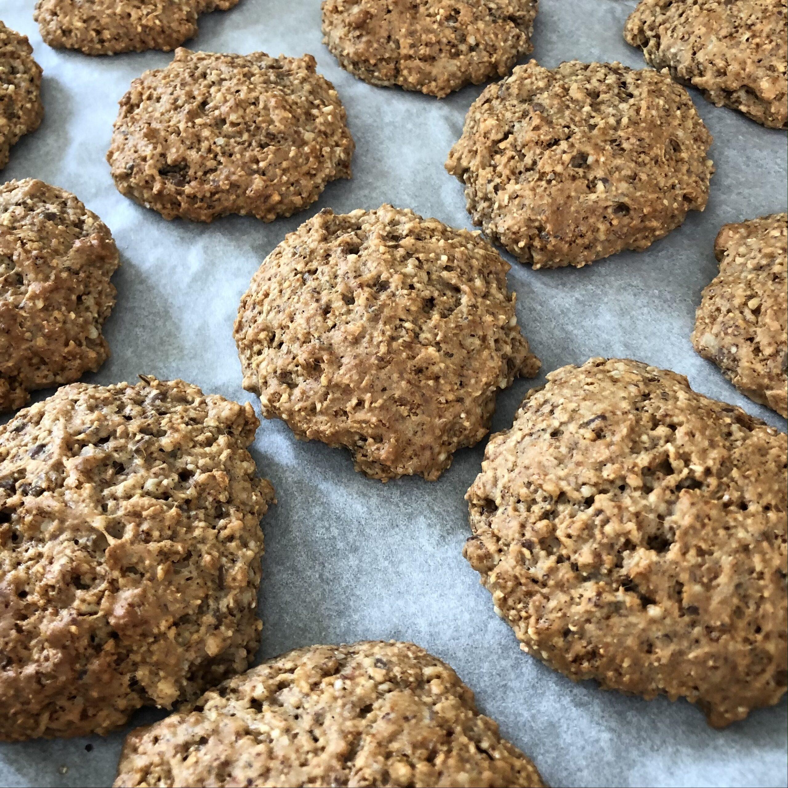 Kekse auf Blech