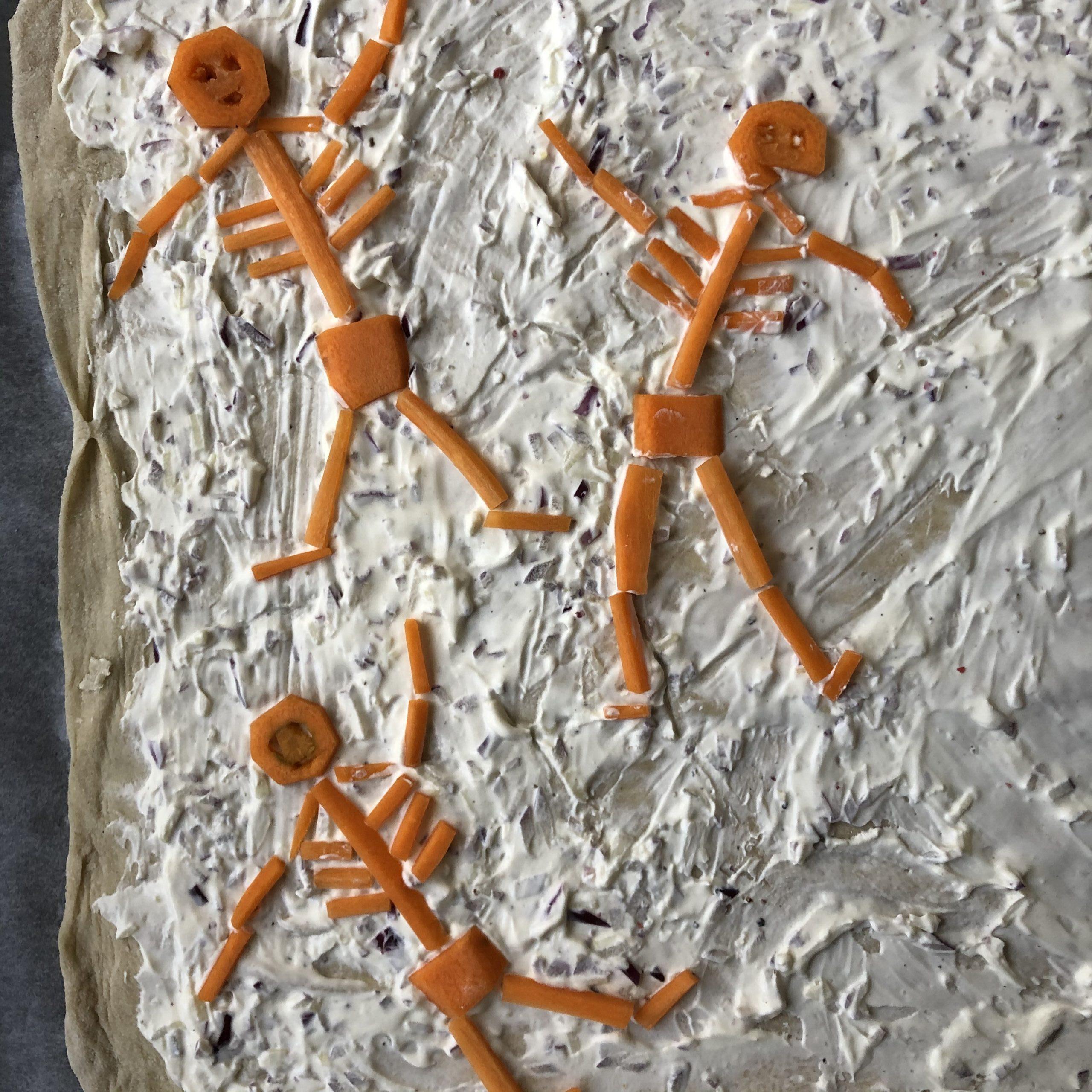 Karotten Skelette