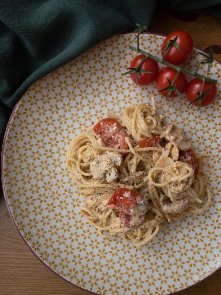 Feta Spaghetti