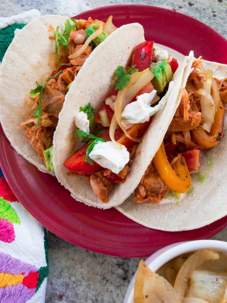 Tacos mit Jackfrucht