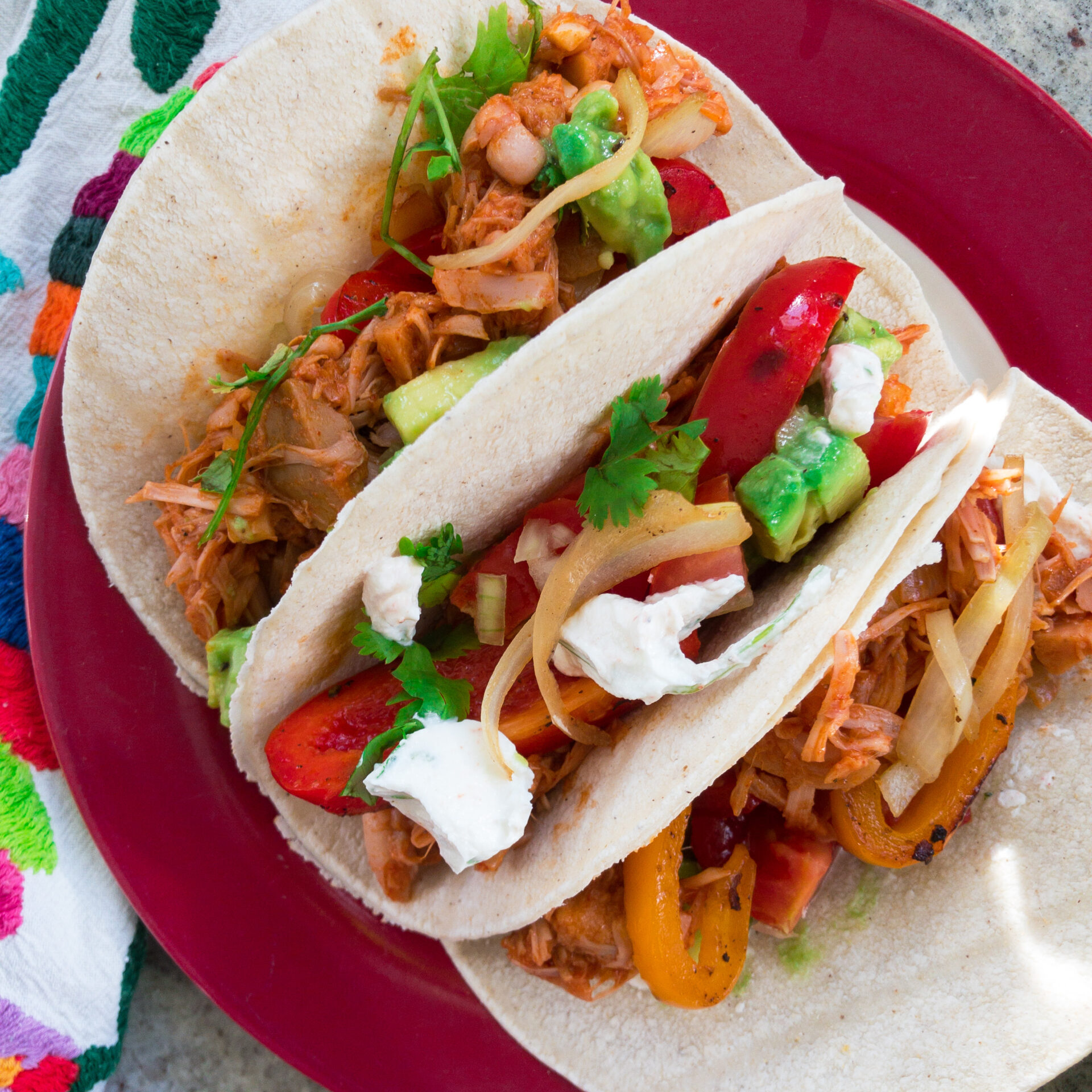 Tacos mit Jackfrucht square
