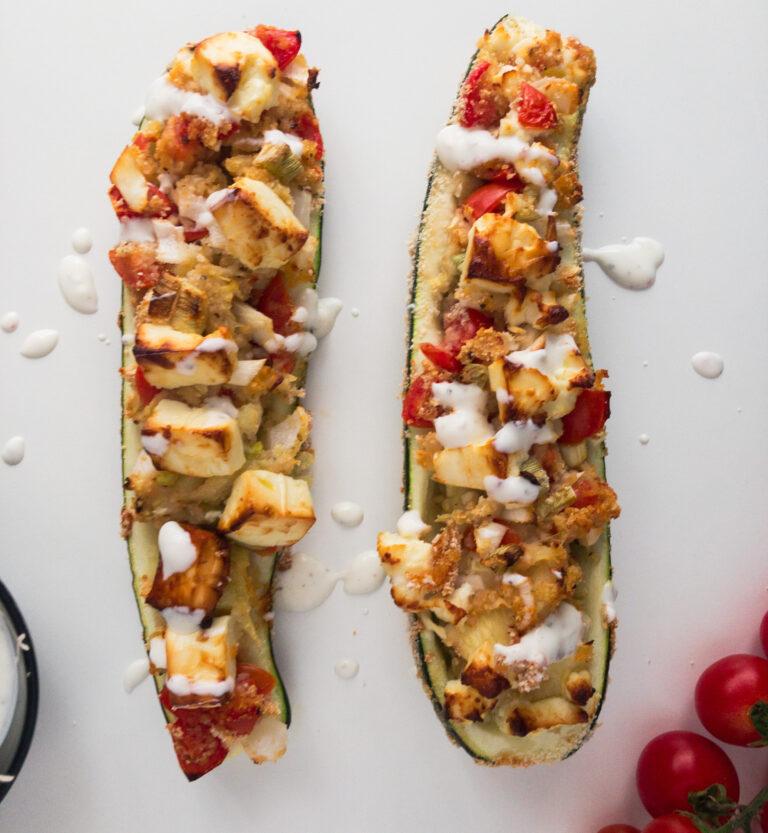 Zucchini Schiffchen