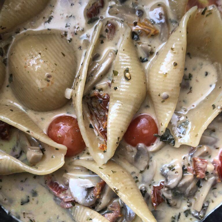 Pasta einkochen